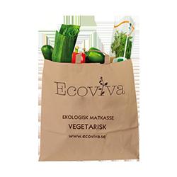 Ecoviva Vegetarisk Ekologisk Matkasse