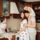 Matlagning familj