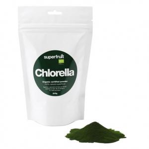 Superfruit - Chlorellapulver - Raw. Eko (200 g)